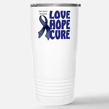 Colon Cancer Stainless Steel Travel Mug