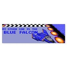 My Other Car is the Blue Falcon bumper