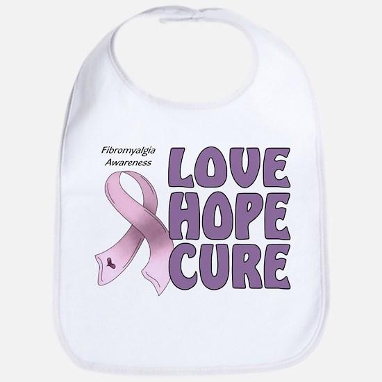 Fibromyalgia Awareness Bib