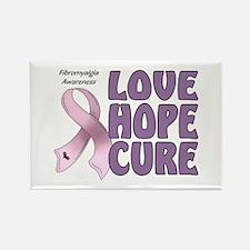 Fibromyalgia Awareness Rectangle Magnet