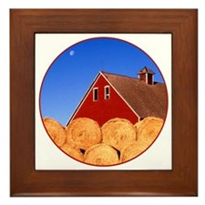 Cute Heartland Framed Tile