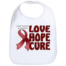 Heart Disease Awareness Bib