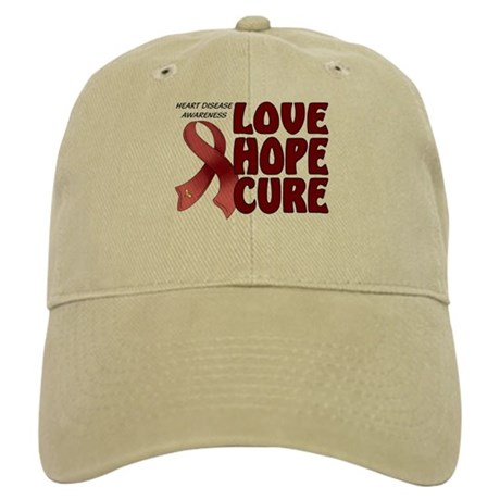 Heart Disease Awareness Cap