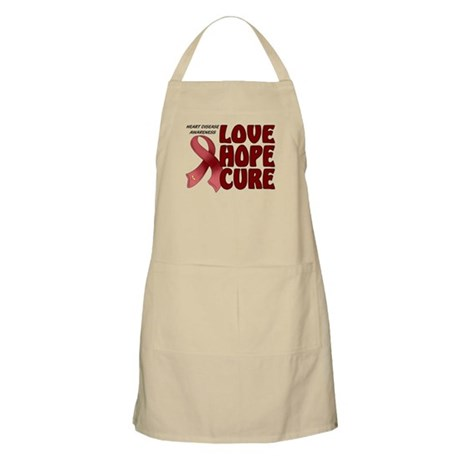 Heart Disease Awareness BBQ Apron