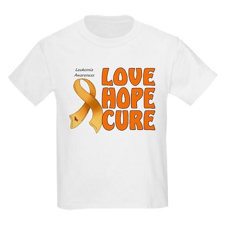 Leukemia Awareness Kids Light T-Shirt