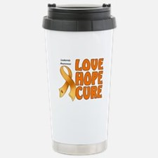 Leukemia Awareness Travel Mug