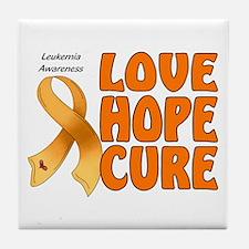 Leukemia Awareness Tile Coaster