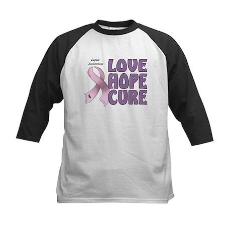 Lupus Awareness Kids Baseball Jersey