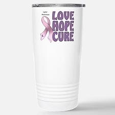Lupus Awareness Stainless Steel Travel Mug