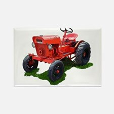 Cute Garden tractor Rectangle Magnet