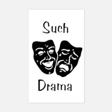 Such Drama Rectangle Decal