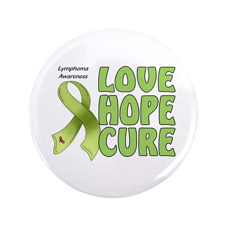 """Lymphoma Awareness 3.5"""" Button (100 pack)"""