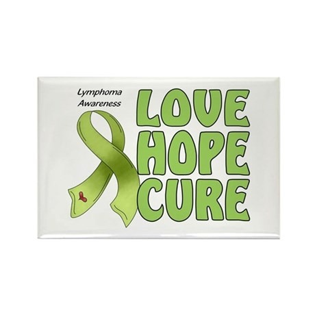 Lymphoma Awareness Rectangle Magnet (10 pack)