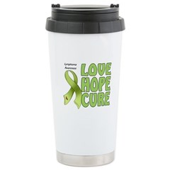 Lymphoma Awareness Stainless Steel Travel Mug