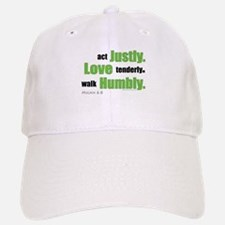Micah 6:8 Walk Humbly with yo Baseball Baseball Cap