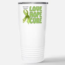 Mental Health Awareness Stainless Steel Travel Mug