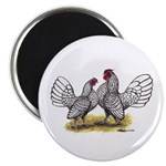 Silver Sebright Bantams Magnet