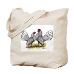 Silver Sebright Bantams Tote Bag