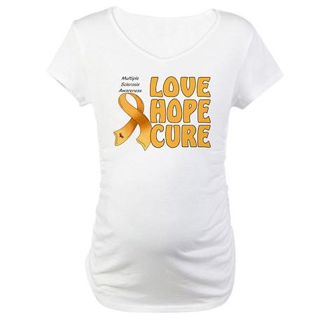 Multiple Sclerosis Awareness Maternity T-Shirt