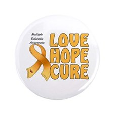 """Multiple Sclerosis Awareness 3.5"""" Button (100 pack"""