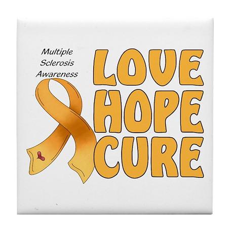 Multiple Sclerosis Awareness Tile Coaster