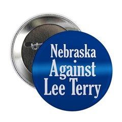 Nebraska Against Lee Terry campaign button