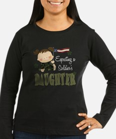 Expecting a Soldier's Daughte T-Shirt