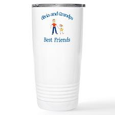 Olivia & Grandpa - Best Frien Travel Mug