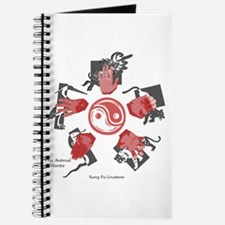Five Animal Hands Journal