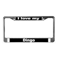 """Dingo"" License Plate Frame"