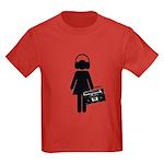 music lover Kids Dark T-Shirt