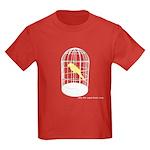 caged bird Kids Dark T-Shirt