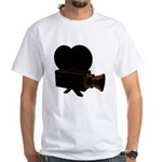 vintage video White T-Shirt