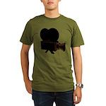 vintage video Organic Men's T-Shirt (dark)