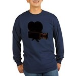 vintage video Long Sleeve Dark T-Shirt