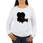 vintage video Women's Long Sleeve T-Shirt