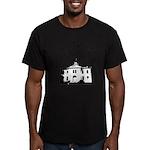 the birds Men's Fitted T-Shirt (dark)