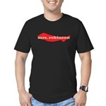 mrs. robinson Men's Fitted T-Shirt (dark)