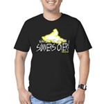 Wake Me When Summers Over Men's Fitted T-Shirt (da
