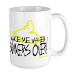 Wake Me When Summers Over Large Mug