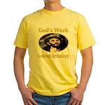 God's Work Yellow T-Shirt