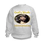 God's Work Kids Sweatshirt