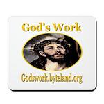 God's Work Mousepad