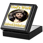 God's Work Keepsake Box