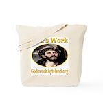 God's Work Tote Bag