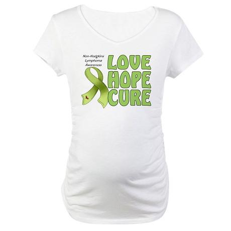 Non-Hodgkins Lymphoma Maternity T-Shirt