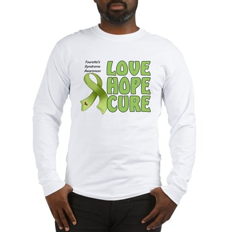 Tourette's Awareness Long Sleeve T-Shirt
