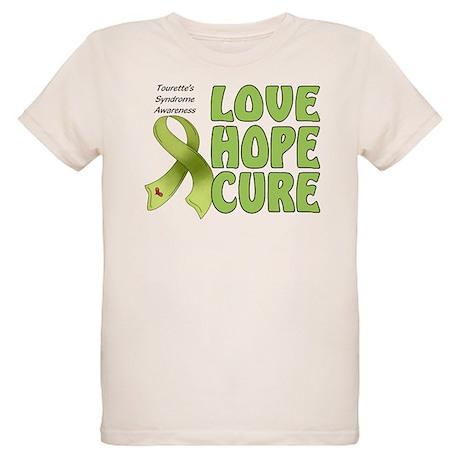 Tourette's Awareness Organic Kids T-Shirt
