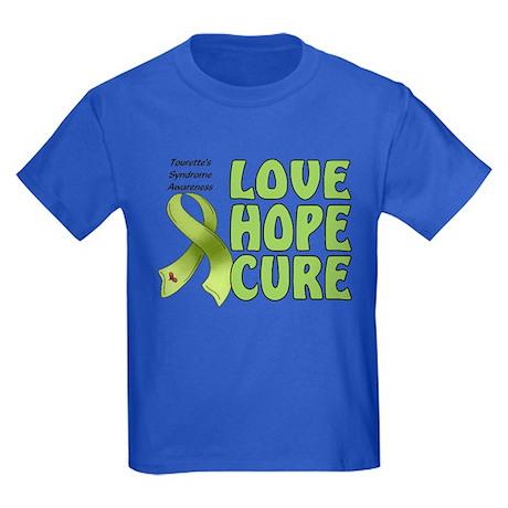 Tourette's Awareness Kids Dark T-Shirt
