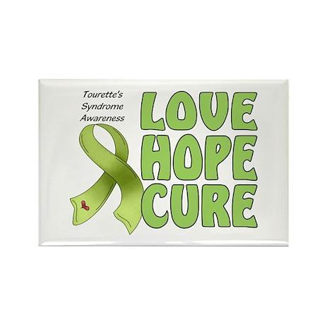 Tourette's Awareness Rectangle Magnet (10 pack)